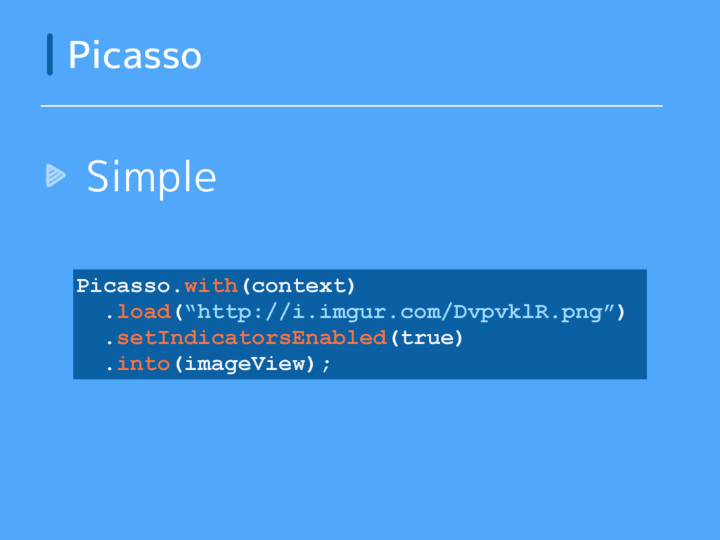 """Simple Picasso Picasso.with(context) .load(""""htt..."""