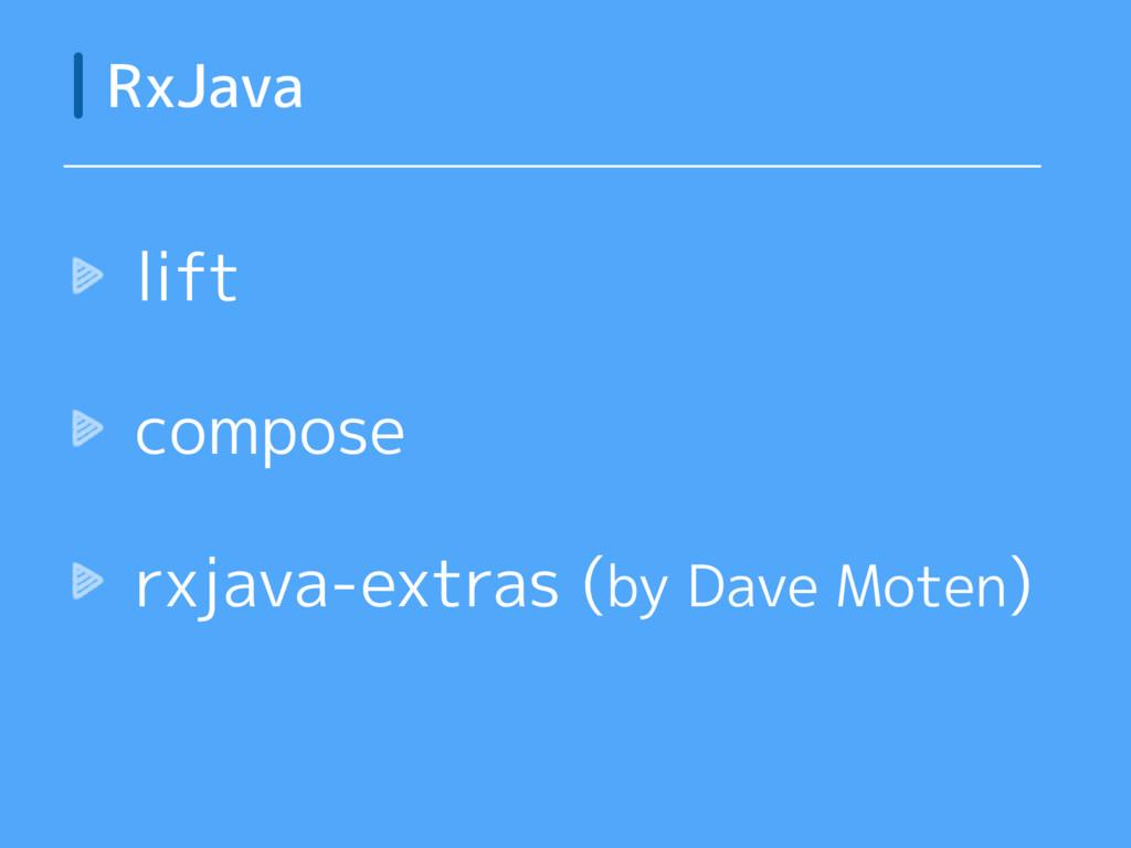 lift compose rxjava-extras (by Dave Moten) RxJa...