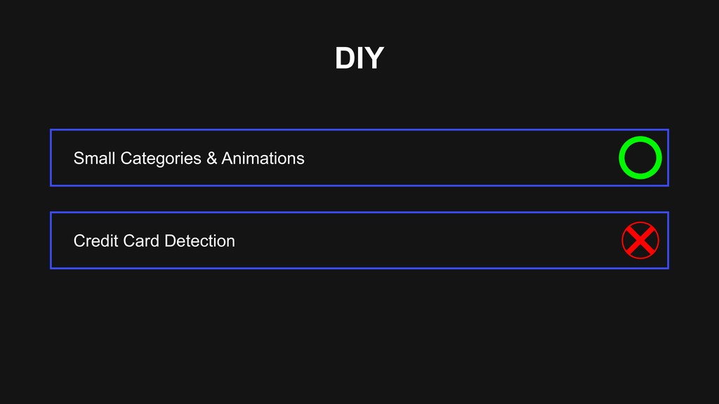DIY Small Categories & Animations Credit Card D...