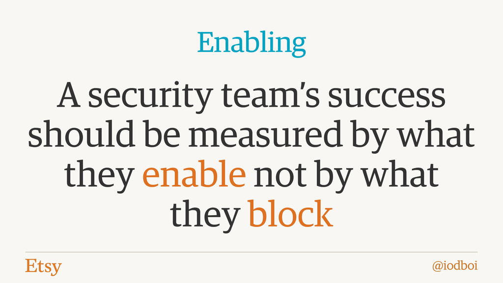 @iodboi A security team's success should be mea...