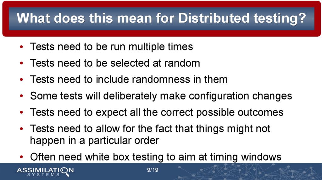 9/19 What does this mean for Distributed testin...