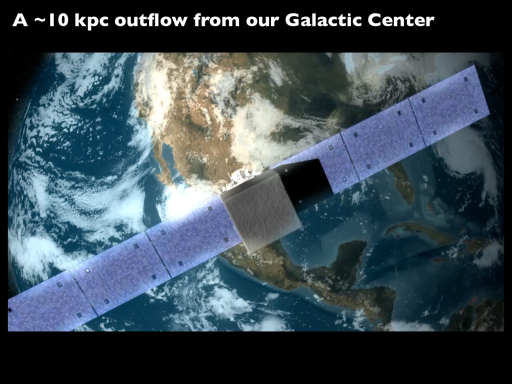 A ~10 kpc outflow from our Galactic Center
