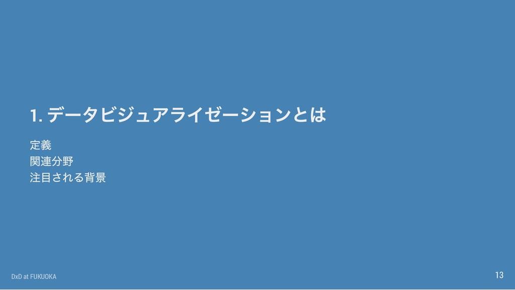 1. DxD at FUKUOKA 13