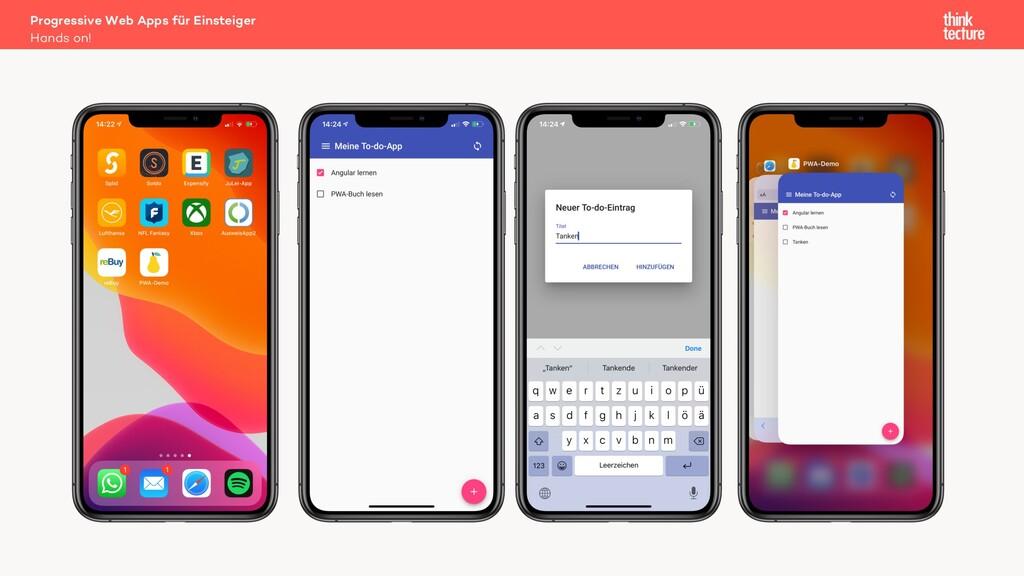 Progressive Web Apps für Einsteiger Hands on!