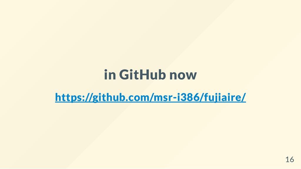 in GitHub now https://github.com/msr-i386/fujia...