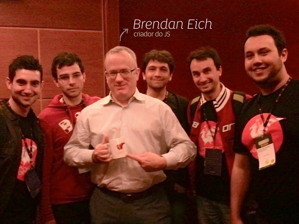 Brendan Eich criador do JS