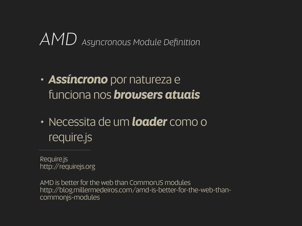 AMD Asyncronous Module Definition Require.js htt...