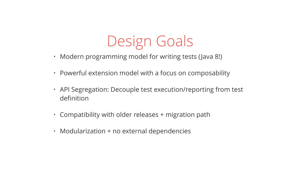 Design Goals • Modern programming model for wri...