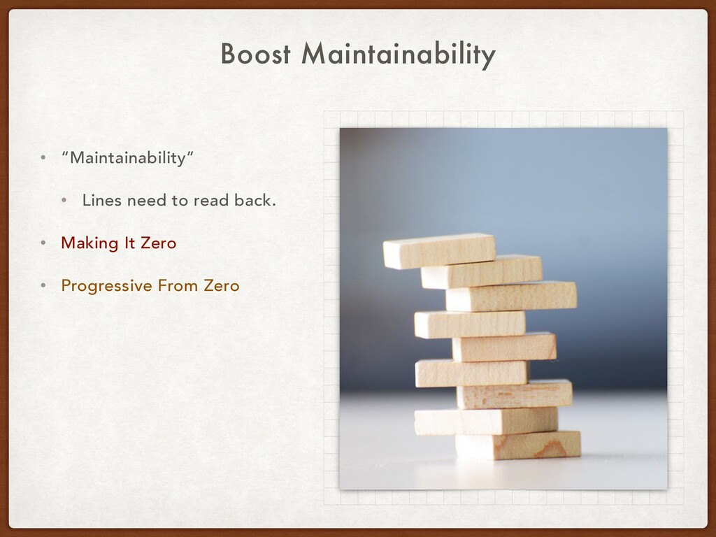 "Boost Maintainability • ""Maintainability"" • Lin..."