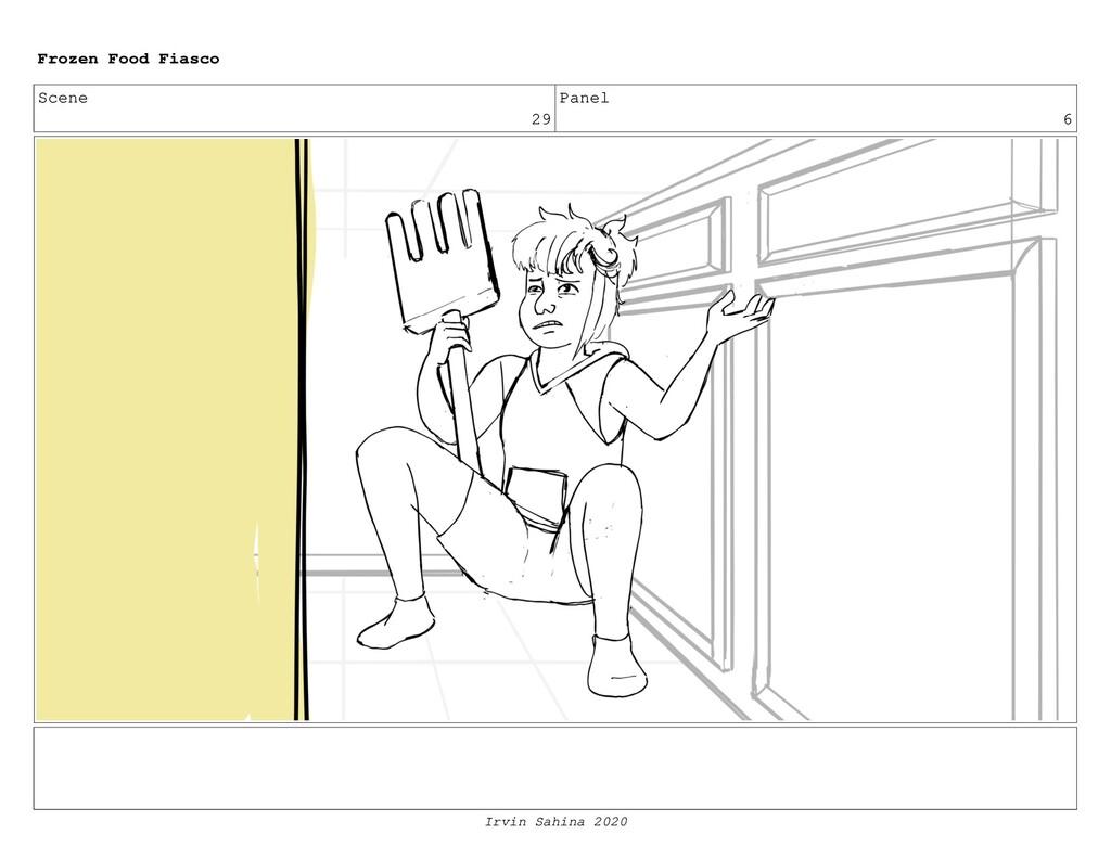 Scene 31 Panel 5 Frozen Food Fiasco