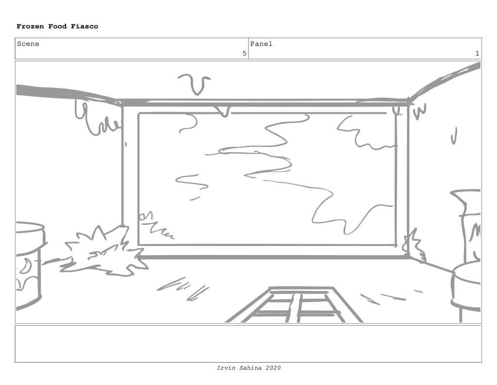 Scene 6 Panel 1 Frozen Food Fiasco
