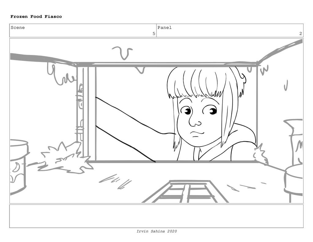 Scene 6 Panel 2 Frozen Food Fiasco