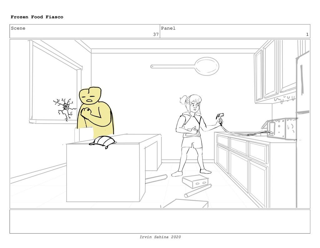 Scene 37 Panel 15 Frozen Food Fiasco