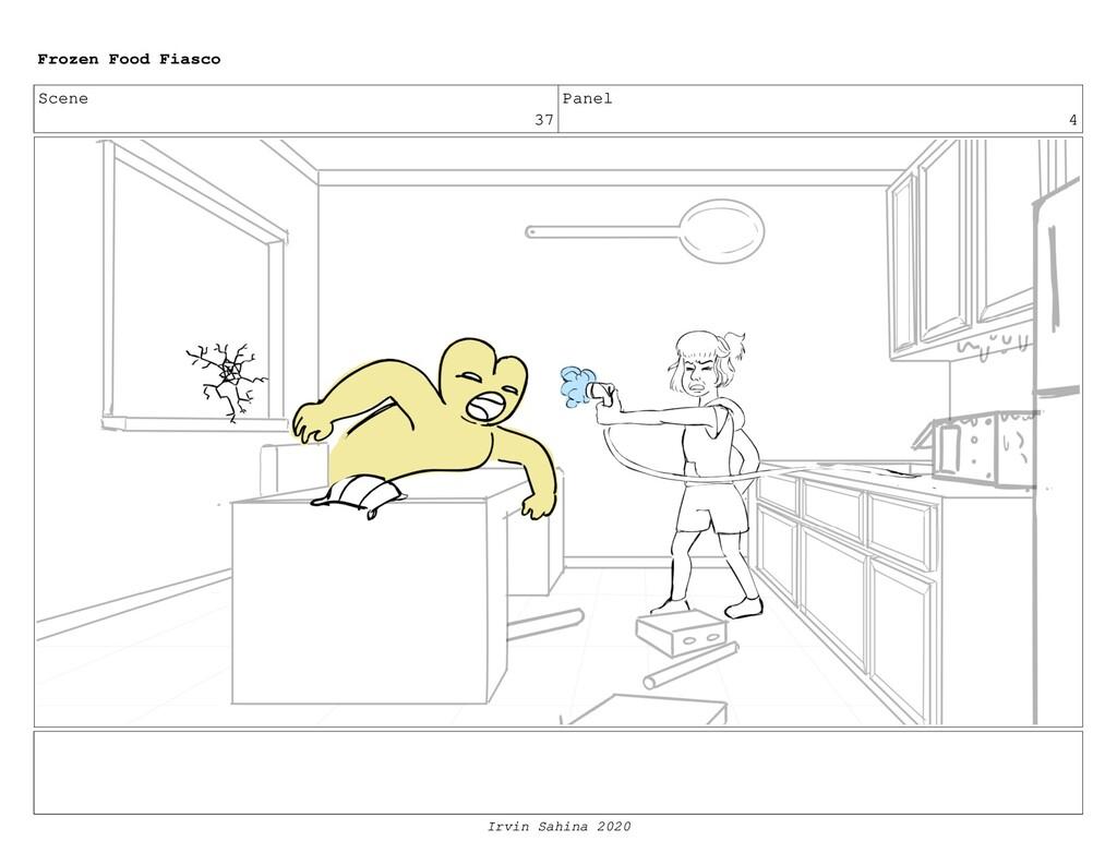 Scene 37 Panel 18 Frozen Food Fiasco