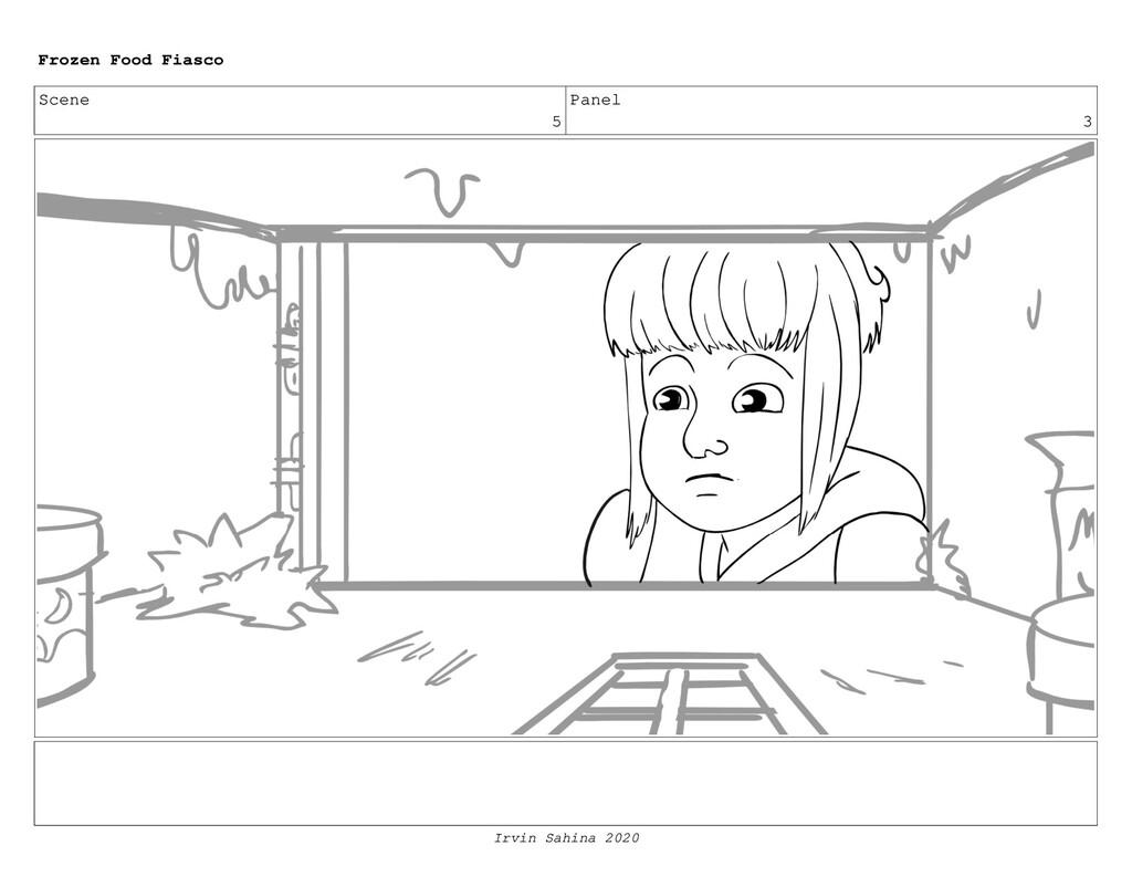 Scene 6 Panel 3 Frozen Food Fiasco