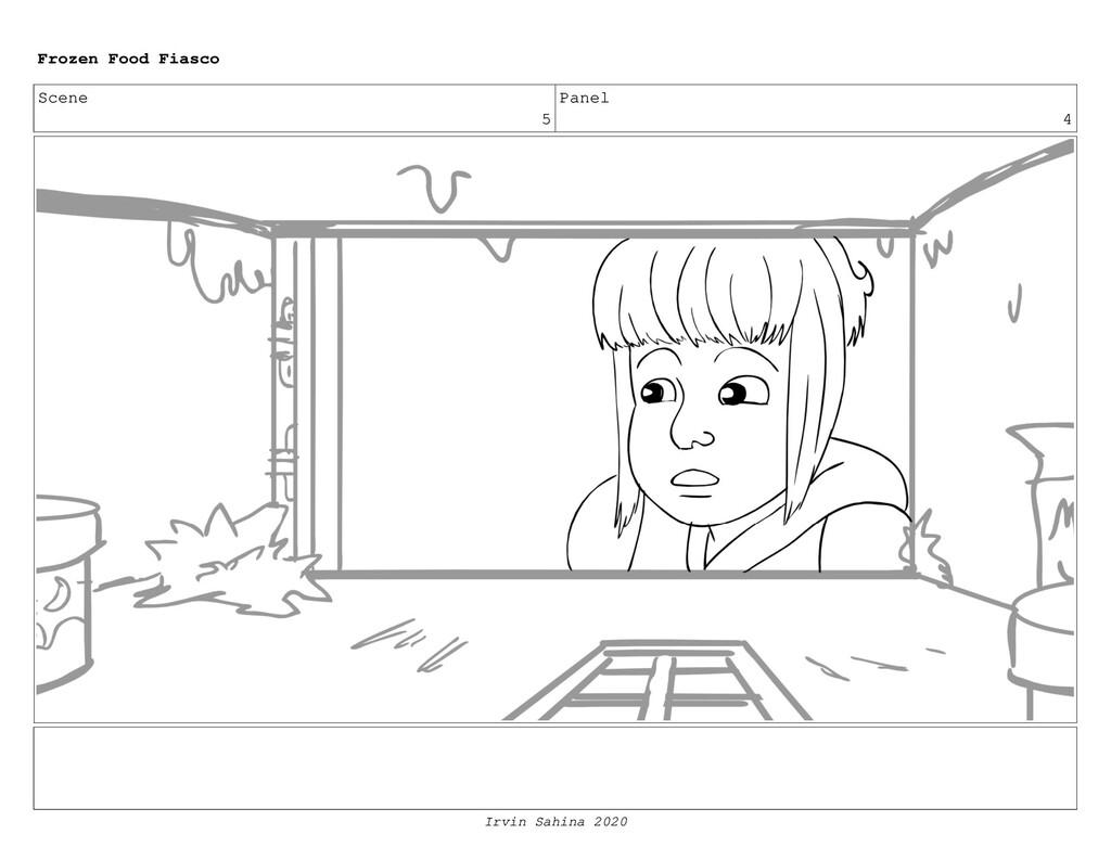 Scene 7 Panel 1 Frozen Food Fiasco