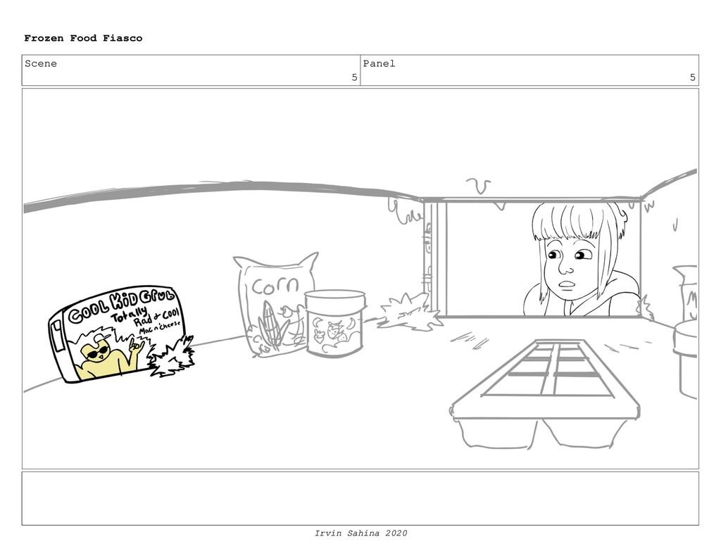 Scene 8 Panel 1 Frozen Food Fiasco