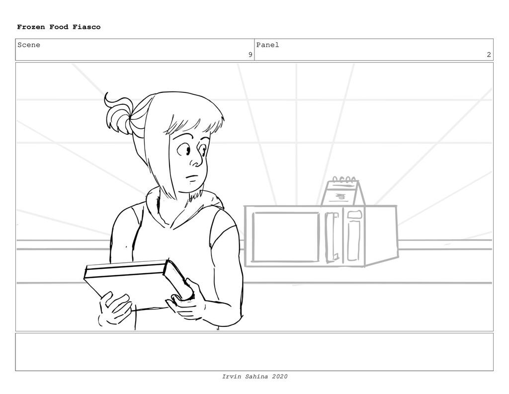 Scene 12 Panel 1 Frozen Food Fiasco