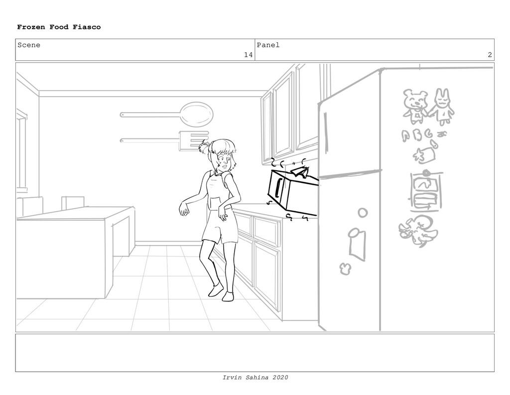 Scene 16 Panel 3 Frozen Food Fiasco