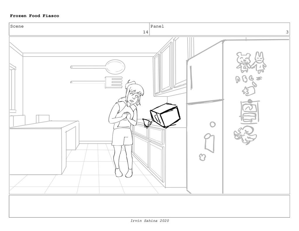 Scene 16 Panel 4 Frozen Food Fiasco