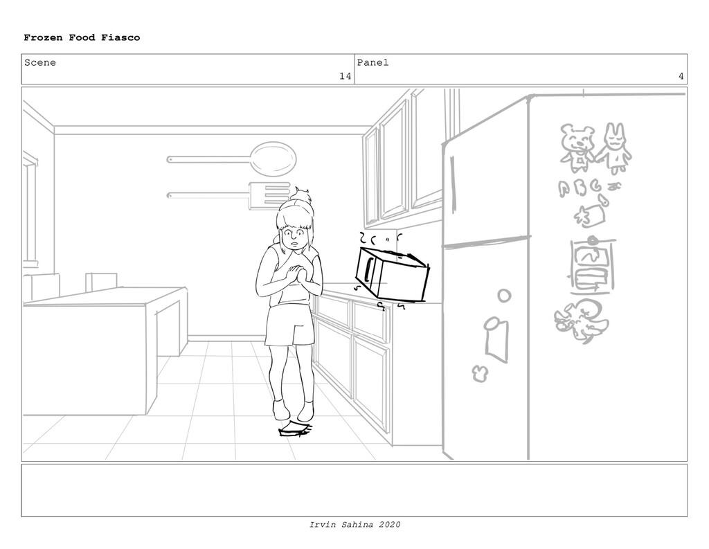 Scene 16 Panel 5 Frozen Food Fiasco