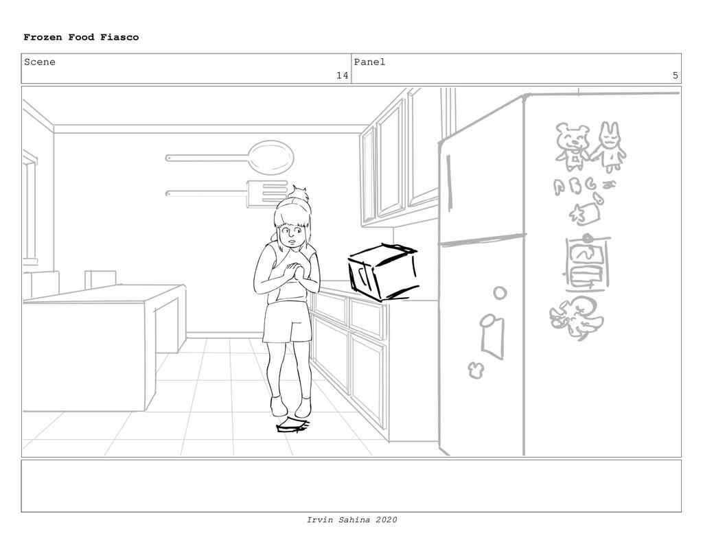 Scene 17 Panel 1 Frozen Food Fiasco