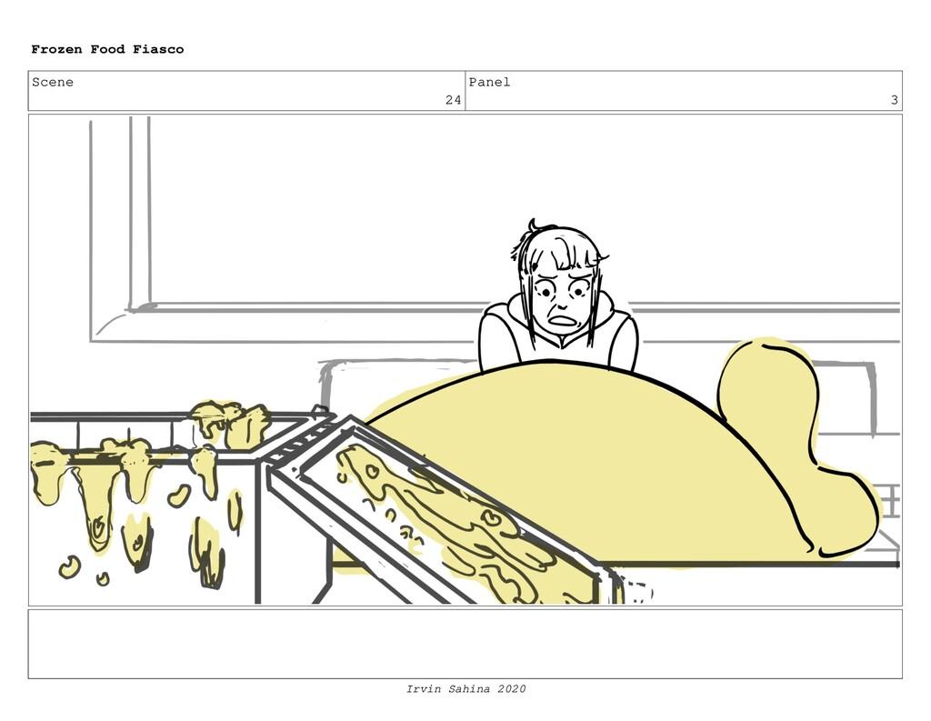 Scene 26 Panel 7 Frozen Food Fiasco