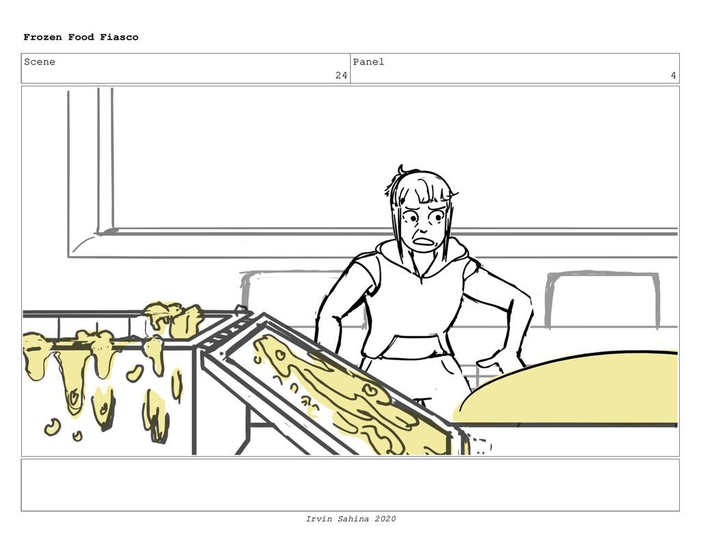 Scene 26 Panel 8 Frozen Food Fiasco