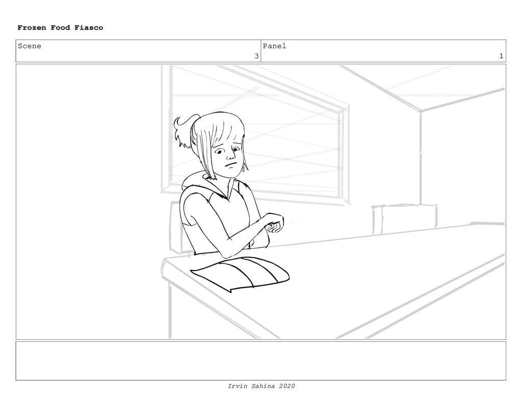 Scene 3 Panel 4 Frozen Food Fiasco