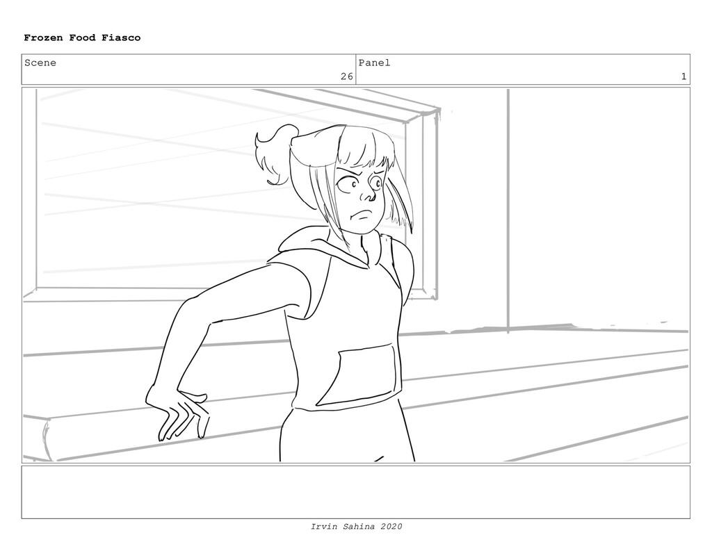 Scene 26 Panel 12 Frozen Food Fiasco