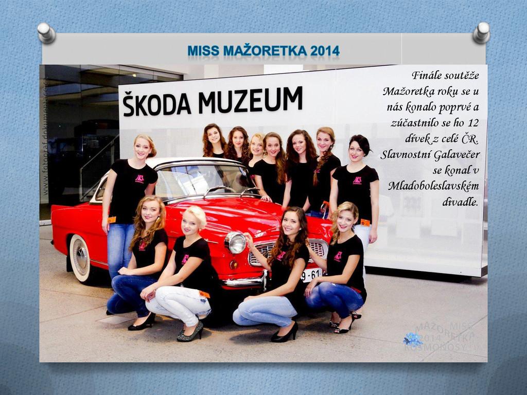 Finále soutěže Mažoretka roku se u nás konalo p...