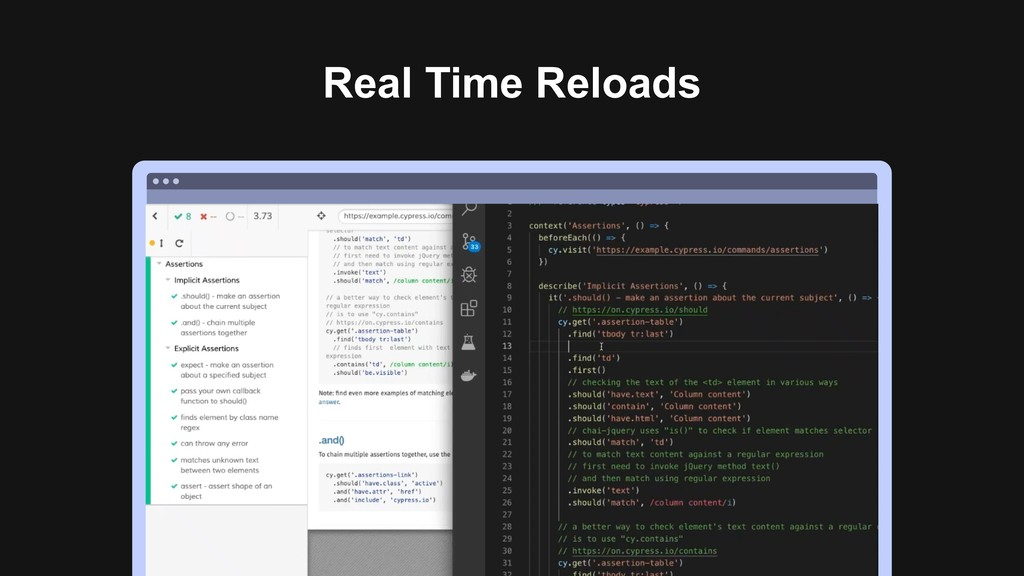 Real Time Reloads Ƃ