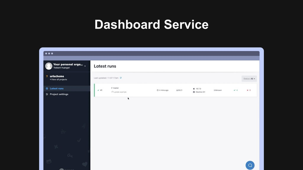 Dashboard Service Ƃ