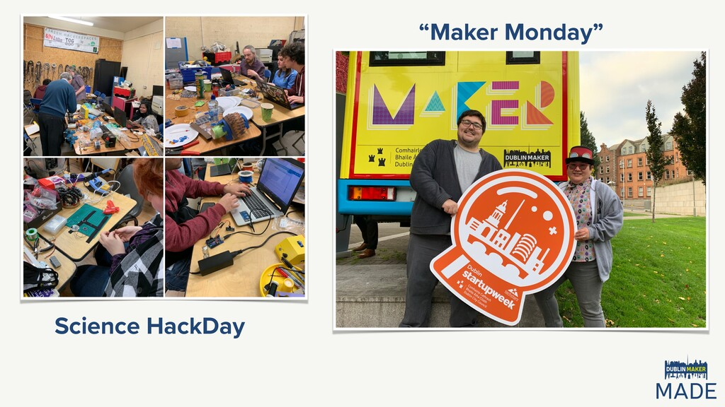 """Maker Monday"" Science HackDay"