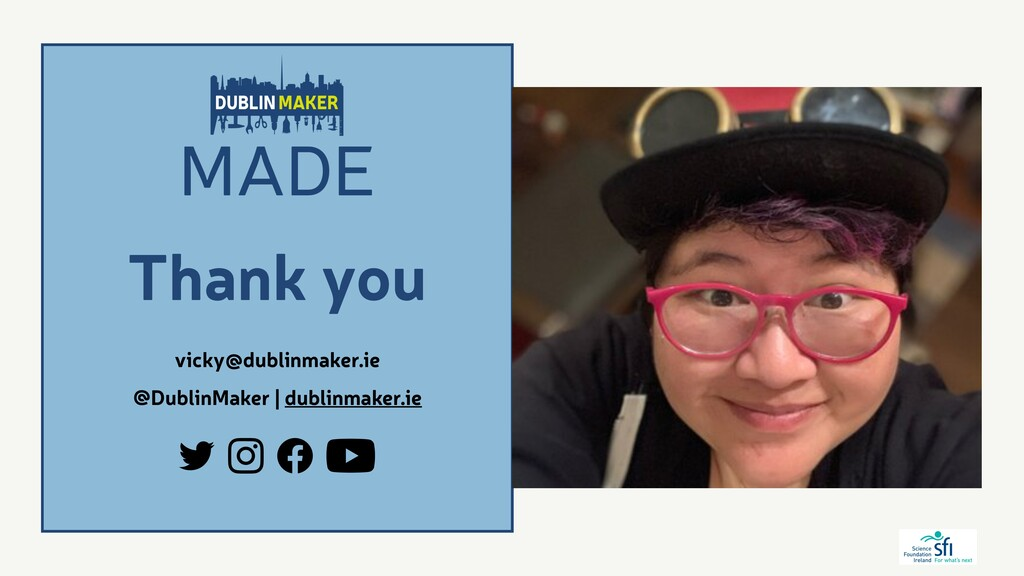 @DublinMaker | dublinmaker.ie Thank you vicky@d...