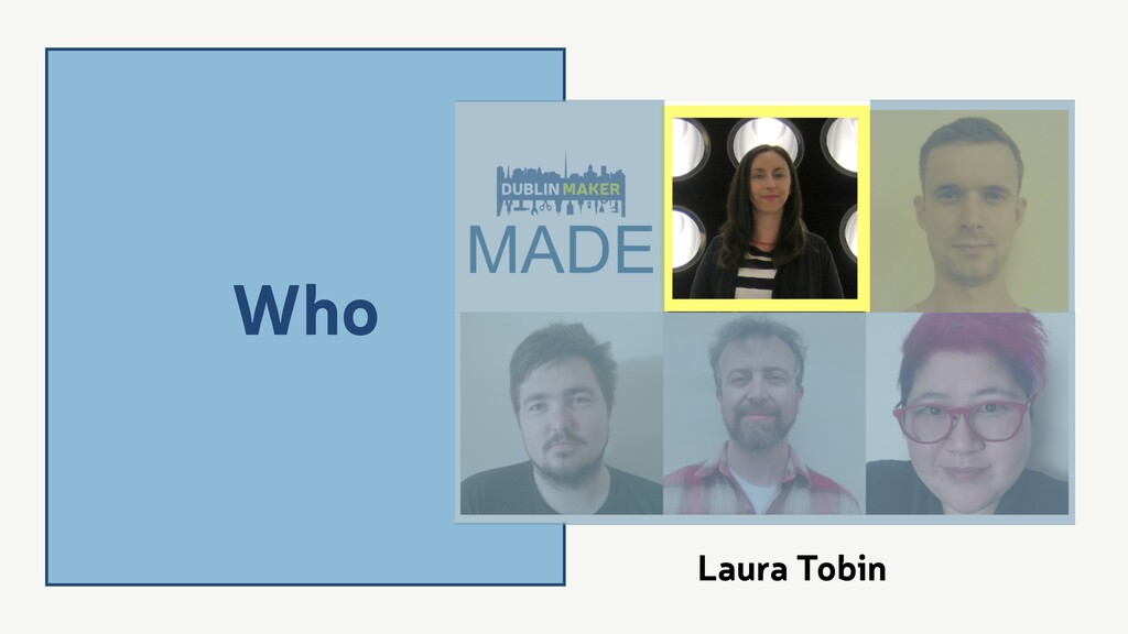 Who Laura Tobin