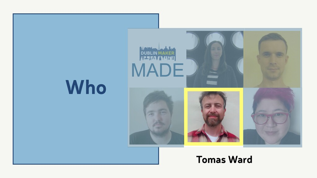 Who Tomas Ward
