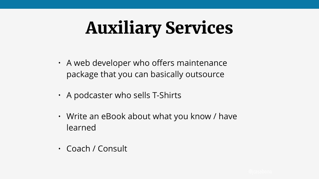 @jcasabona Auxiliary Services • A web developer...