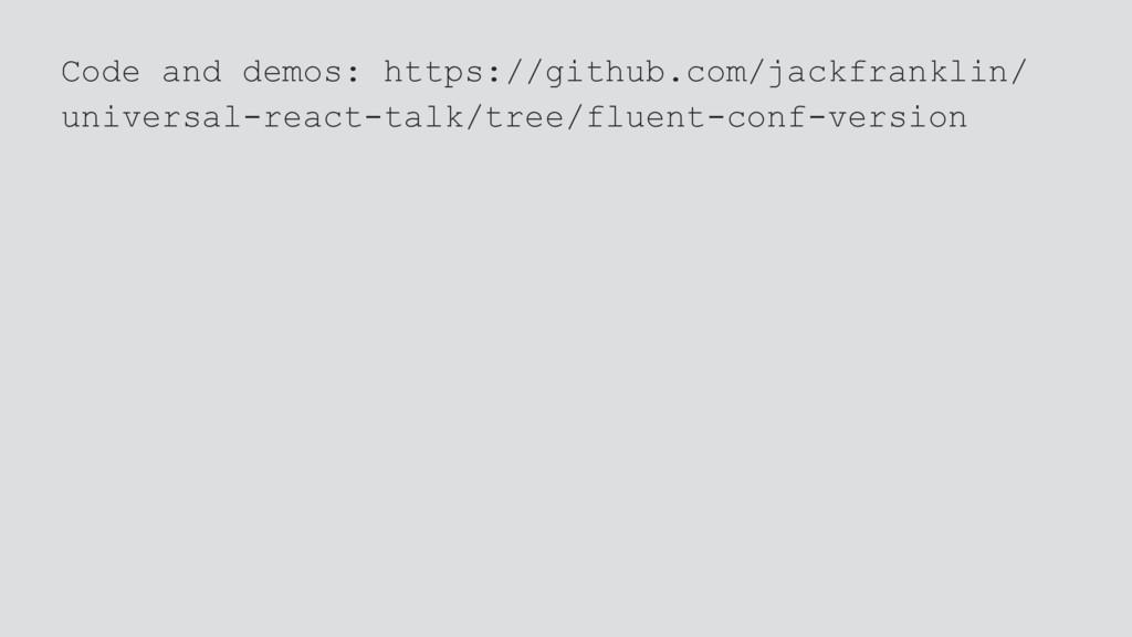 Code and demos: https://github.com/jackfranklin...