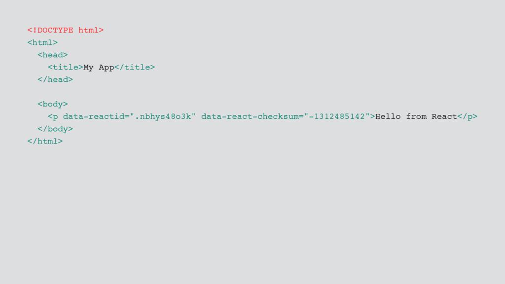 <!DOCTYPE html> <html> <head> <title>My App</ti...
