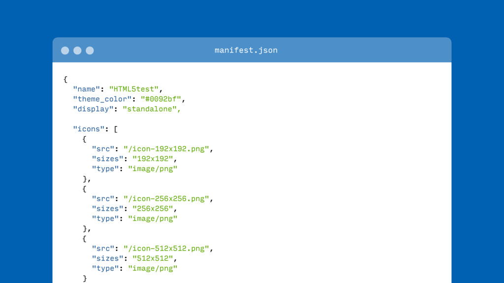 "{ ""name"": ""HTML5test"", ""theme_color"": ""#0092bf""..."