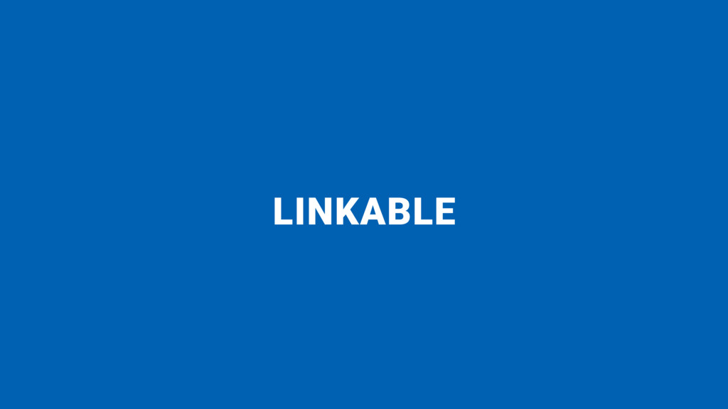 LINKABLE