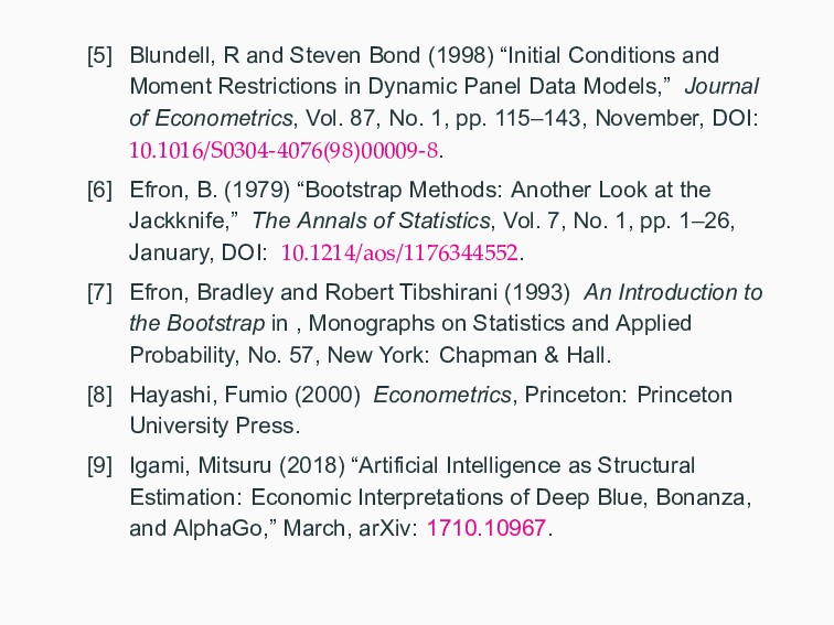 """[5] Blundell, R and Steven Bond (1998) """"Initial..."""