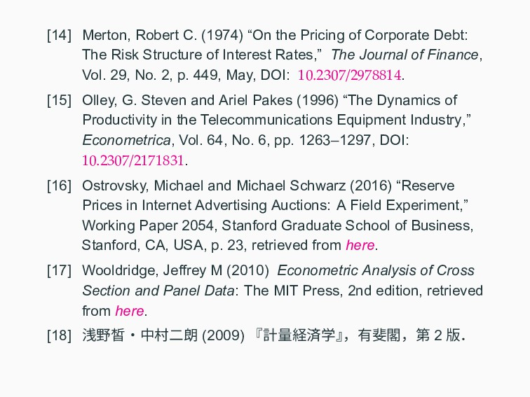 "[14] Merton, Robert C. (1974) ""On the Pricing o..."