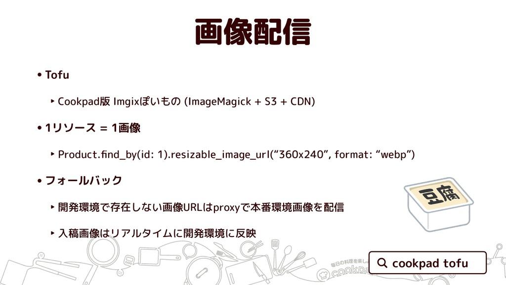 画像配信 •Tofu ‣ Cookpad版 Imgixぽいもの (ImageMagick + ...