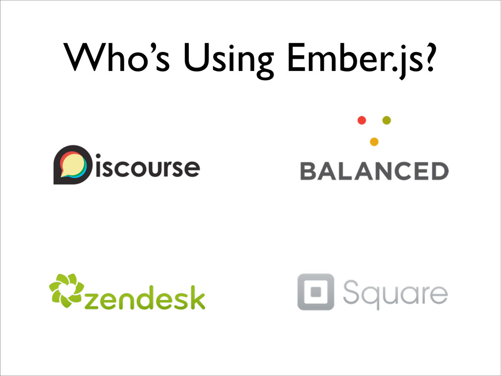 Who's Using Ember.js?
