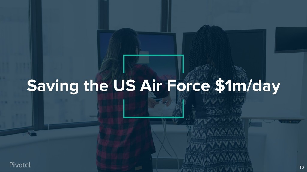 Saving the US Air Force $1m/day 10