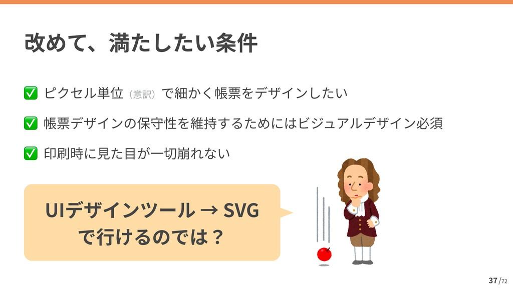 / 72 37 ✅   ✅   ✅ UI SVG