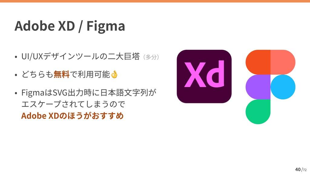 / 72 UI/UX   👌   Figma SVG   Adobe XD 40 Adob...