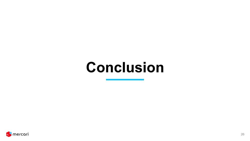 Conclusion 26